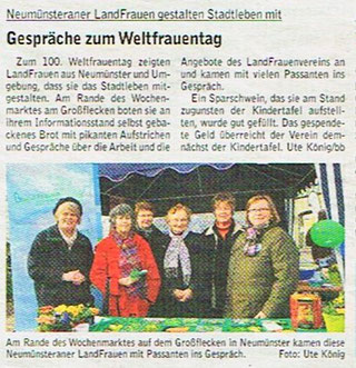 """""""Bauernblatt"""" vom 19.März 2011, S. 82"""