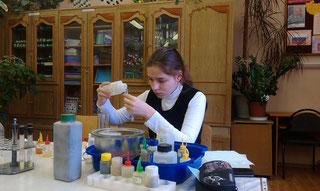 Оверченко Марина, призер регионального этапа Всероссийской олимпиады школьников по химии             (2012-13 уч.год)