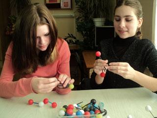 Конструирование моделей молекул, 9б, 2012-13 уч.год