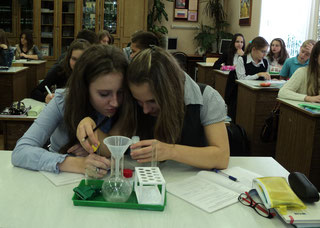 Первые шаги в химию (8б, 2011-12 уч.год)