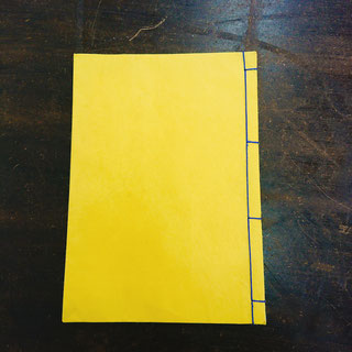 四ツ目綴じの和本。罫線入りとなし、表紙も様々な柄をご用意しています。1冊600円~。