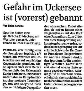 Prenzlauer Zeitung vom 06.09.2016