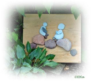 Bilder aus Ostseesteinen