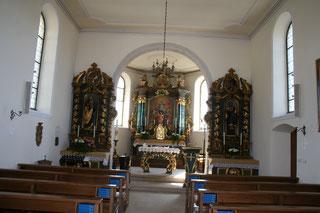 Kirche Blauen