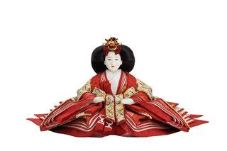 優香作「親王飾り」趣楽 女雛(京十三)