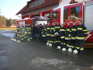 Branddienstleistungsprüfung 28.11.2015