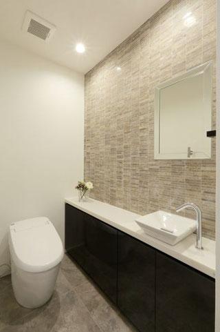 オーダー家具,トイレ手洗い,新築戸建て