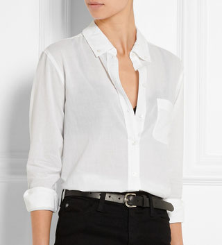 chemise blanche Equipment