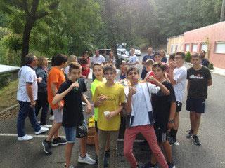 Cohésion rime avec  Auberge espagnole chez les -15G samedi 8 septembre !!!!