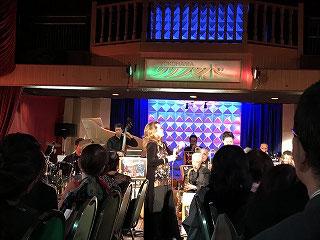 横須賀ビックバンドは毎回素晴らしい演奏で、ジャズバンドです。グレンミラーの曲も多く聴けてノリノリ♪♬
