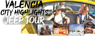 Valencia City Jeep tour