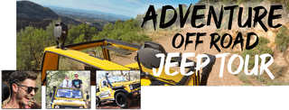 Mountain Jeep  Adventure in Calderona National Park Valencia. Guided Tour Visiting Castell de Serra during Off road adventure in Valencia with jeeps Jeep tour in Valencia visiting Calderona Mountains NAtional Park. Adventure tour 4x4 El Garbi viewpoint 70