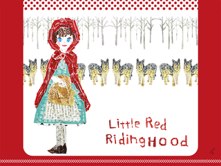 Little Red Riding Hood/マスキングテープ PhotoshopCS6 2014,5.4