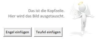 Screenshopt: Word-Kopfzeile mit Engel-Logo