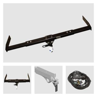 Anhängerkupplung inkl. Rasterplatten zur Höhen verstellung der Anhängerkupplung für Ihr Wohnmobil / Reisemobil