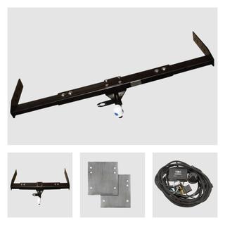 Anhängerkupplung inkl. Rasterplatten zur Höhen verstellung der Anhängerkupplung und Elektrokabelsatz Fiat Ducato X250 für Ihr Wohnmobil / Reisemobil