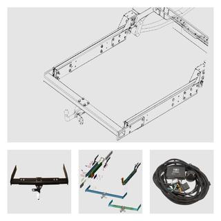 Anhängerkupplung inkl. Rahmenverlängerung Normal Fiat Ducato ZFA250 für Ihr Wohnmobil / Reisemobil