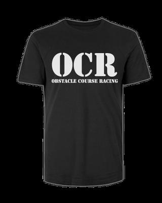 Hindernislauf T-Shirt Schwarz OCR