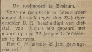 De Volkskrant 18-11-1921