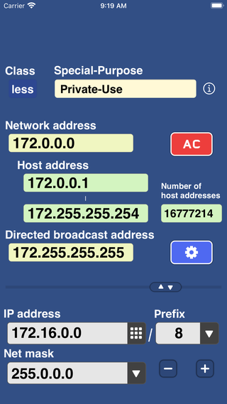 IP Keypad - Subnet Calculator - subnet calculator apps for