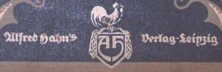 Alfred Hahn´s Verlag