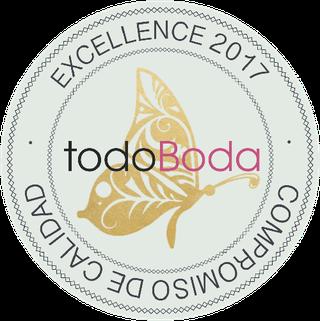 La Pagoda ha sido seleccionada como una de Las 5 Mejores floristerías para bodas en Canarias y premiado con el sello de certificación de excelencia por TodoBoda.