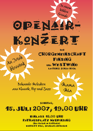 Open Air Konzert 2007