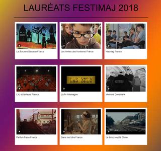 Voir les films lauréats Festimaj 2018