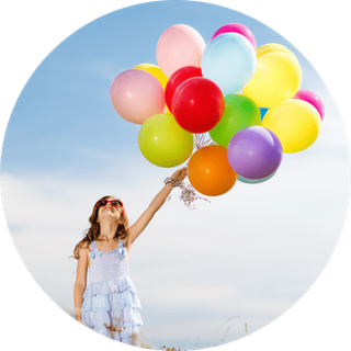 Luftballontiere der Kinderanimation Aalen