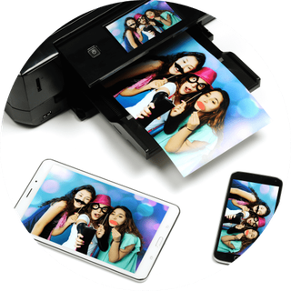 Fotodrucker der Fotobox