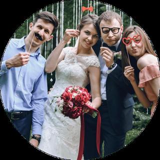 Fotobox München für Hochzeit