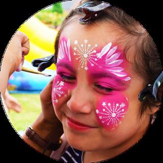 Kinderschminken auf Events in Ludwigsburg