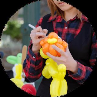 Luftballonkünstler mit Kinderanimation buchen
