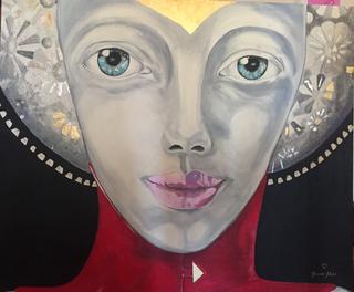 ° Sotto la Luna oil on canvas 100x120 / 2012