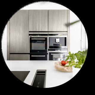 Moderne Küche vom Architekten