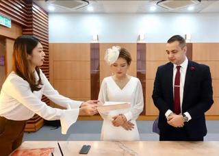 香港・結婚式