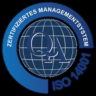 ADVISA-Service Dresden GMBH DIN ISO EN 14001 : 2015 Zertifikat