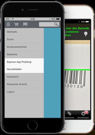 Artikel scannen und so einfach und schnell im Shop aufrufen