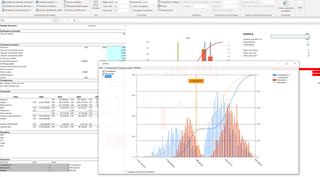 MC FLO Monte Carlo simulación Excel series temporales