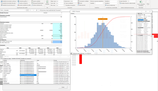 MC FLO Monte Carlo simulación Excel