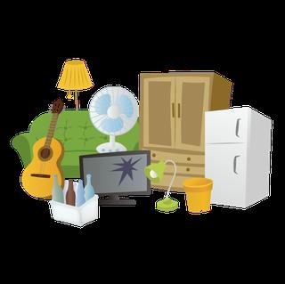 かすみがうら市の不用品回収業者、普段処分できない大きな粗大ごみもリサイクルします。かすみがうら市ごみ処分や不用品に関することならアースリサイクルフィールド