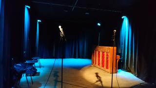 Improtheater Tik Nord Bühne Alex und Bea