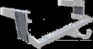Plaques percées pour réglage en hauteur de l'attelage-remorque ou du système de portage arrière, pour camping-cars, caravanes et fourgons.