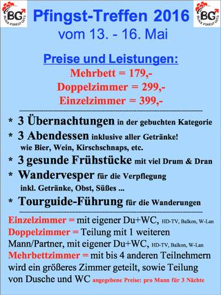 Schwule Wandergruppe 2016