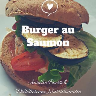 burger saumon végétarien