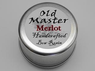 ヴァイオリン バイオリン 松脂 松ヤニ Old Master Merlot Rosin  オールドマスター メルロー ヴァイオリン教室 レッスン