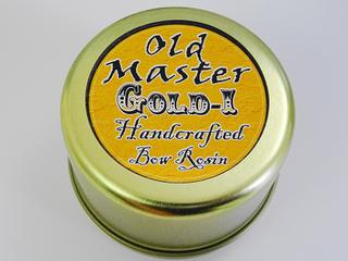 ヴァイオリン バイオリン 松脂 松ヤニ Old Master GOLD Ⅰ ROSIN オールドマスター ゴールド ヴァイオリン教室 レッスン