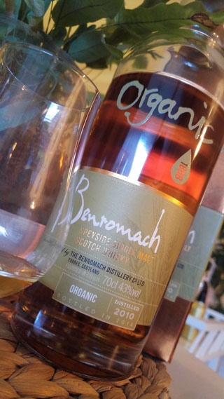 Benromach 2010 2016 Organic Flasche