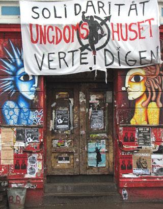 """BZ-caféen """"Onkel Otto"""" i Hafenstrasse"""