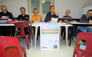 Le bureau: François, J-Claude, M-Hélène, Pascal, Philippe, Dorian